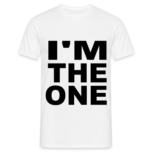 Im the one. Kovac - Herre-T-shirt