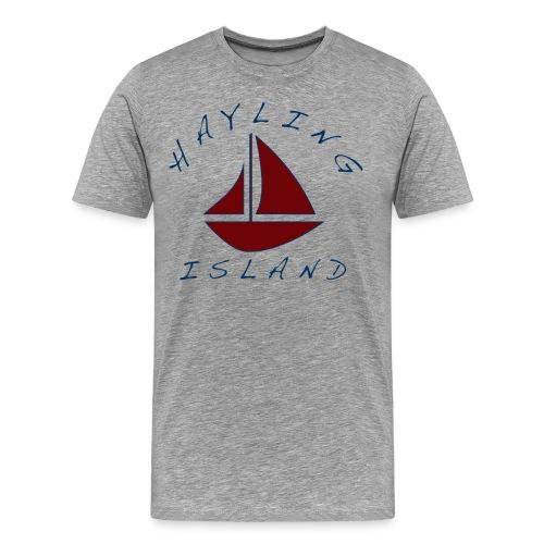 Hayling Island boating - Men's Premium T-Shirt