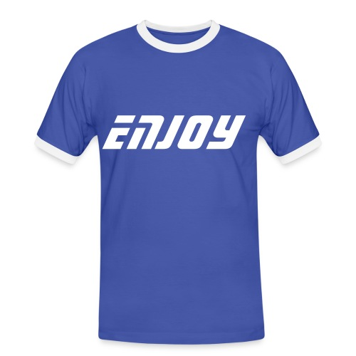 Série Enjoy by C&F - T-shirt contrasté Homme