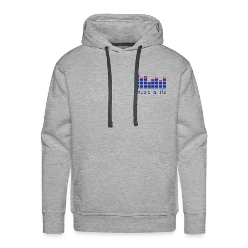 Music is Life - Men's Premium Hoodie