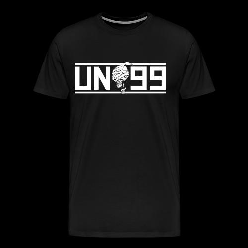 Bortebanner svart - Premium T-skjorte for menn