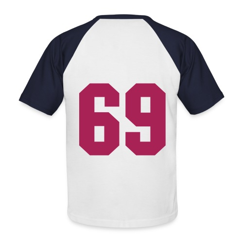 Men's Short SleeveNo 69 Baseball Shirt - Men's Baseball T-Shirt