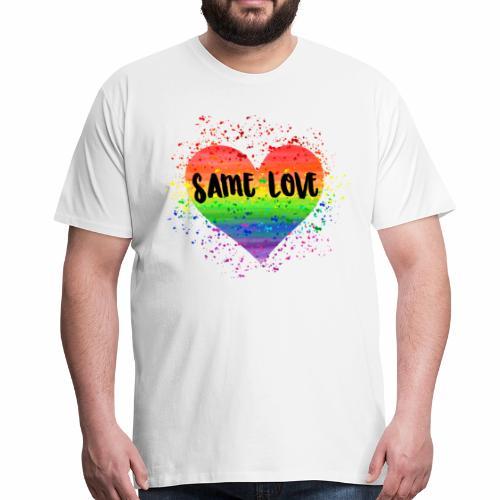 Same Love - Männer Premium T-Shirt
