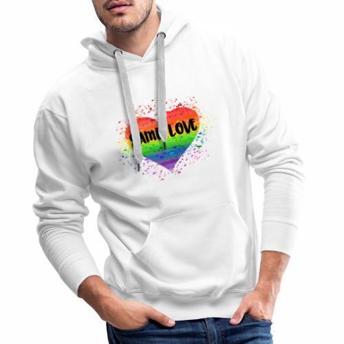 Same Love - Männer Premium Hoodie