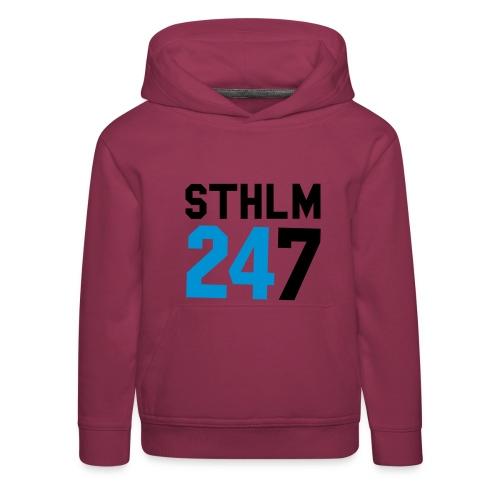 STK 24/7 Jr Hood - Premium-Luvtröja barn
