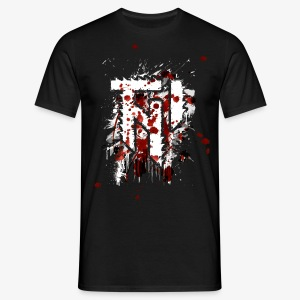 TNI splatter (f/-)  MEN - Männer T-Shirt