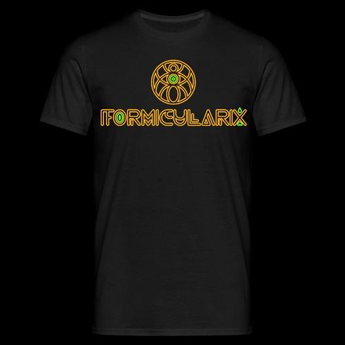 FOMICULARIX VIP & DJ SHIRT SMALL LOGO ON BACKSIDE - Männer T-Shirt