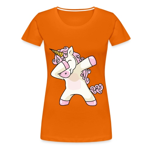 Frauen T-Shirt Einhron - Frauen Premium T-Shirt