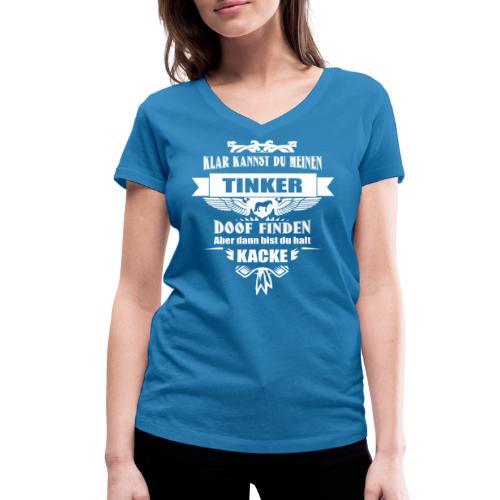 Tinker - Shirt V - Frauen Bio-T-Shirt mit V-Ausschnitt von Stanley & Stella