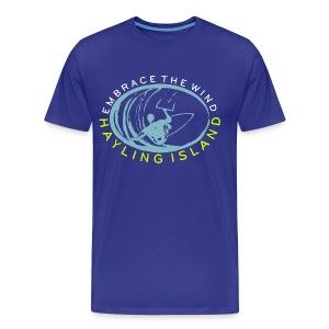 Hayling Embrace The Wind - Men's Premium T-Shirt