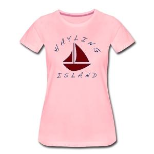 Hayling Island Boating - Women's Premium T-Shirt
