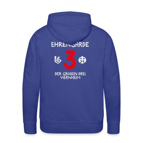Kapuzenpulli Ehrengarde Logo hinten - Männer Premium Hoodie
