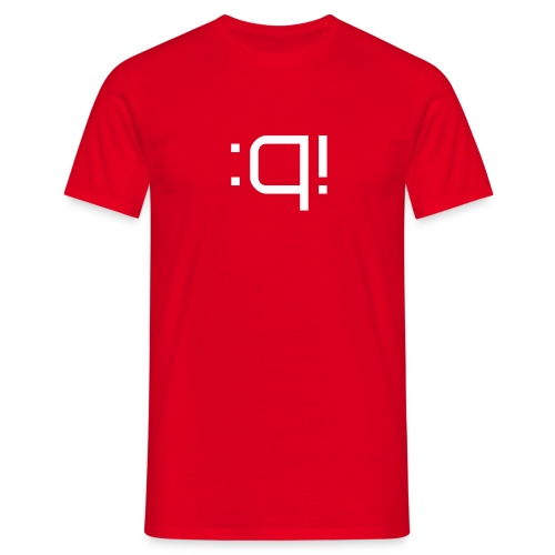 Acronymity - :q! - Who gives a f*? - Men's T-Shirt