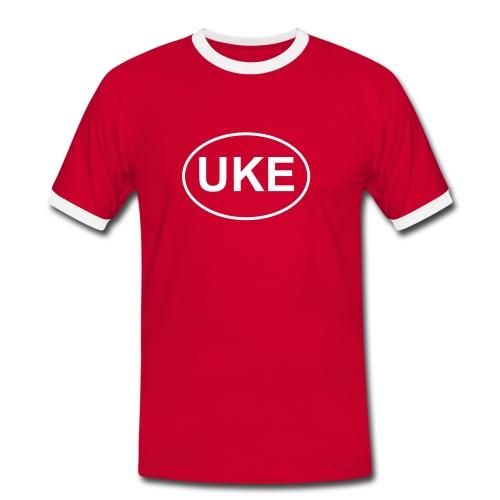 Tshirt femme UKE (ukulélé) - T-shirt contrasté Homme