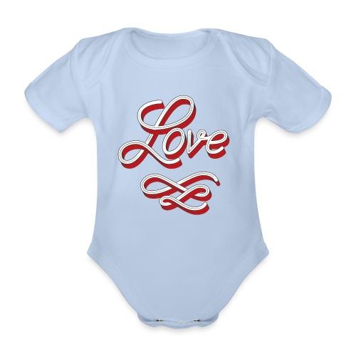 Love Body - Baby Bio-Kurzarm-Body