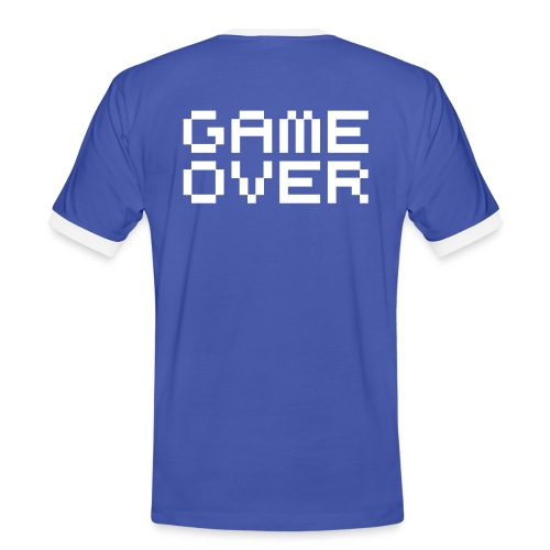 Game Over - Camiseta contraste hombre