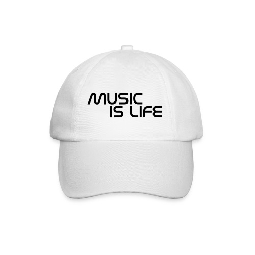 Music is Life - Gorra béisbol