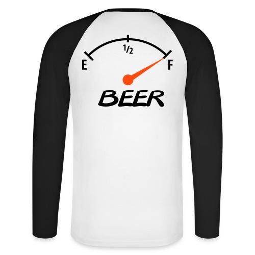 Beer - Raglán manga larga hombre
