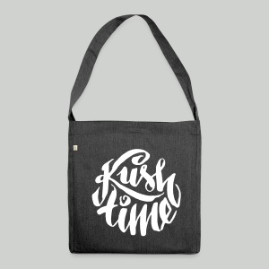 Kush time - Shoulder Bag made from recycled material