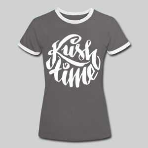 Kush time - Women's Ringer T-Shirt