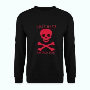 Schwarz LOST HATE Pullover - Men's Sweatshirt