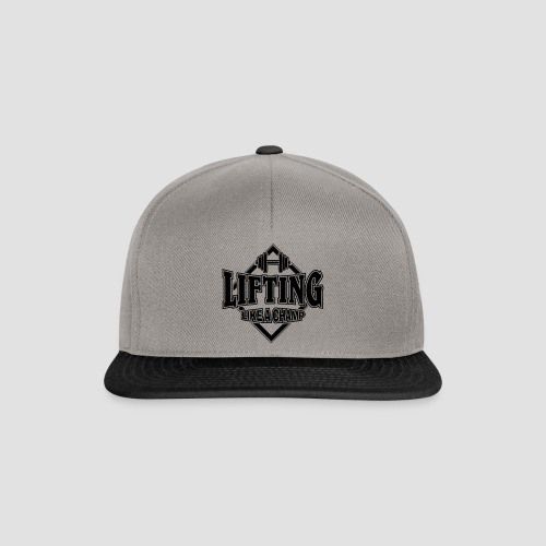 LIFTING like a champ - Snapback Cap