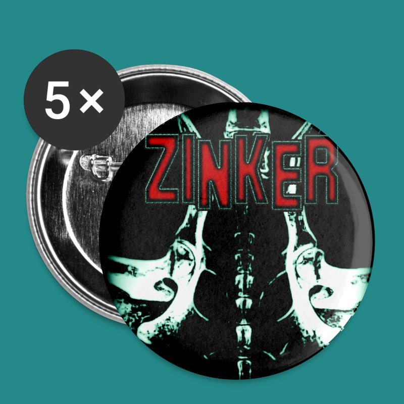 Zinker Button Album Cover - Buttons groß 56 mm