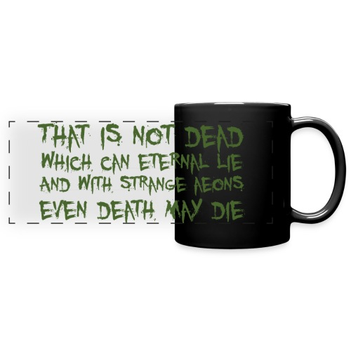 That is not dead which can eternal lie - tazza Cthulhu - Tazza colorata con vista