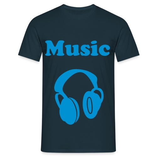 Music it's my life 2 - T-shirt Homme