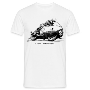TT Legends - Bob McIntyre - Men's T-Shirt