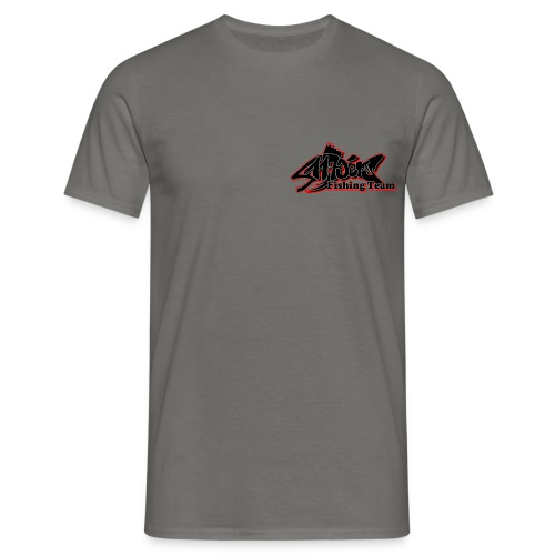 fishing front / back - Männer T-Shirt