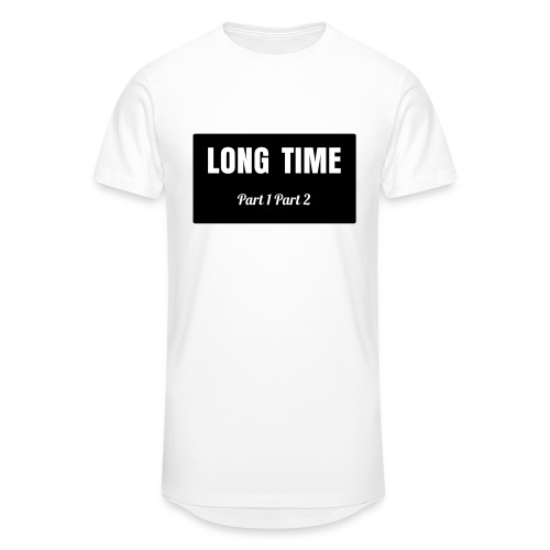 LONG TIME white 2 - Männer Urban Longshirt