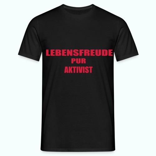 lp aktivist - Men's T-Shirt