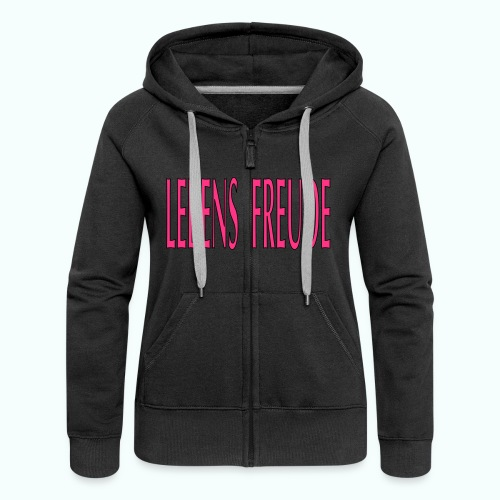 HERBST-WINTER-LEBENSFREUDE - Women's Premium Hooded Jacket
