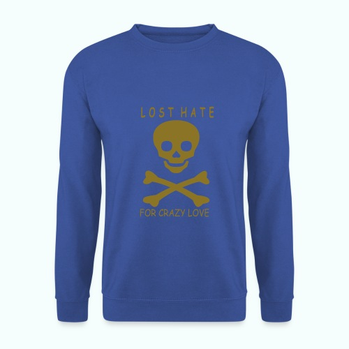 lost hate - Men's Sweatshirt