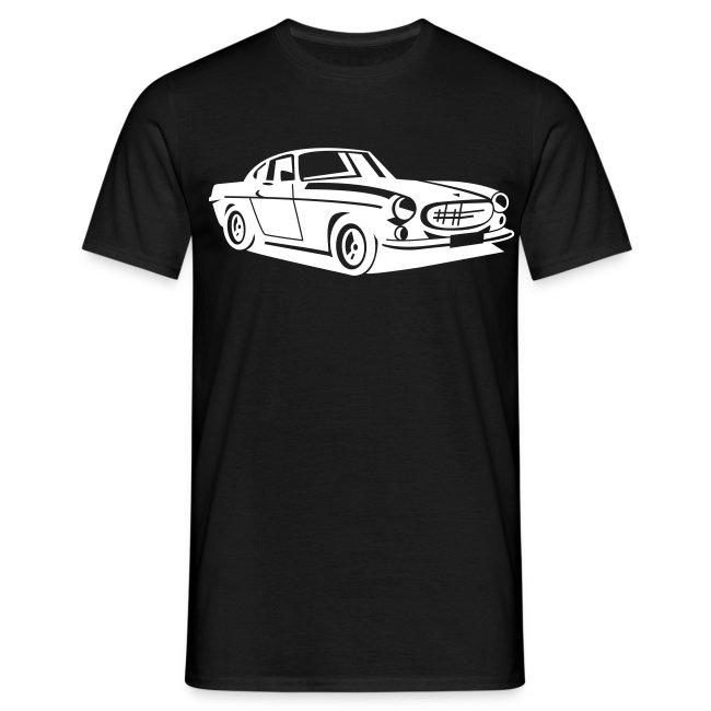 carshirt.de Auto PKW Quad und Car Shirt   volvo p1800 shirt - Männer ...