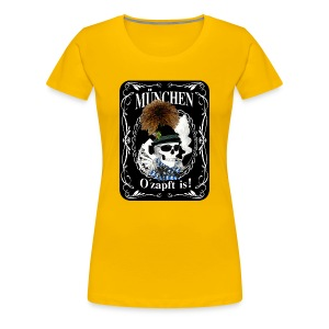 Bayern skull - Frauen Premium T-Shirt