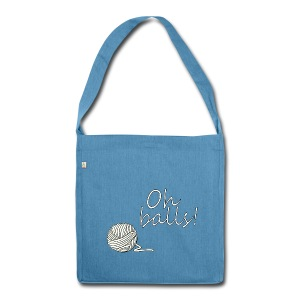 Oh Balls! Tote Bag - Shoulder Bag made from recycled material