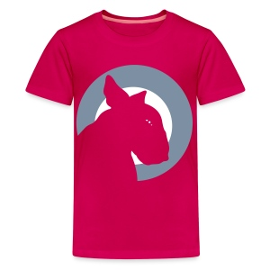 Bull Terrier Target - Teenage Premium T-Shirt