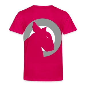 Bull Terrier Target Silver and White - Kids' Premium T-Shirt