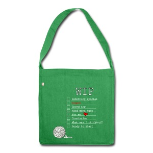 WIP Sorter Tote Bag - Shoulder Bag made from recycled material