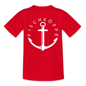 Fischköppe - Teenager (13-19 Jahre) - Teenager T-Shirt