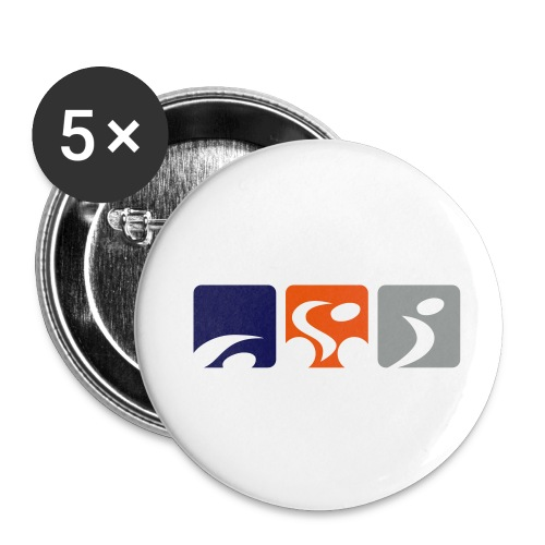 TriTalk Pin Badge - Buttons medium 32 mm