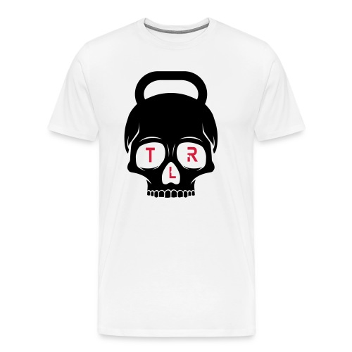 The Last Rep KB Skull - Premium-T-shirt herr