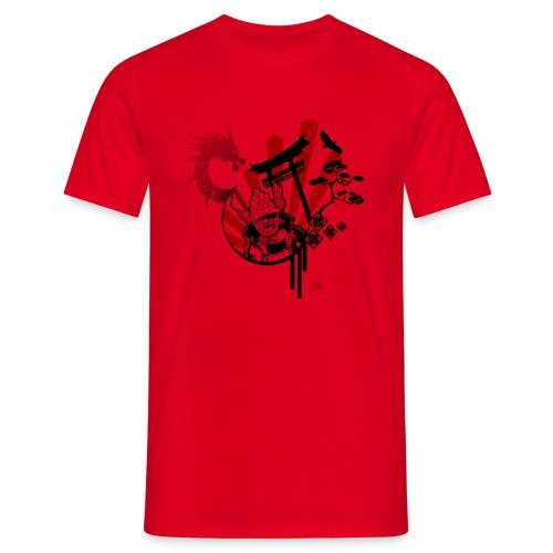 BLACK samourai Bushido - T-shirt Homme