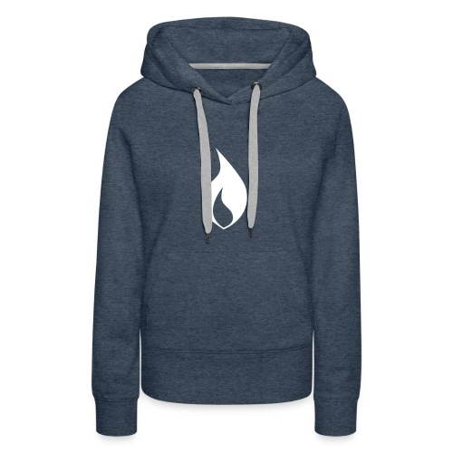 Marked. Womans Pollover (plain print) - Frauen Premium Hoodie