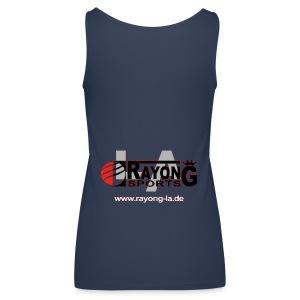 Frauen Tanktop Rayong LA Logo hinten - Frauen Premium Tank Top