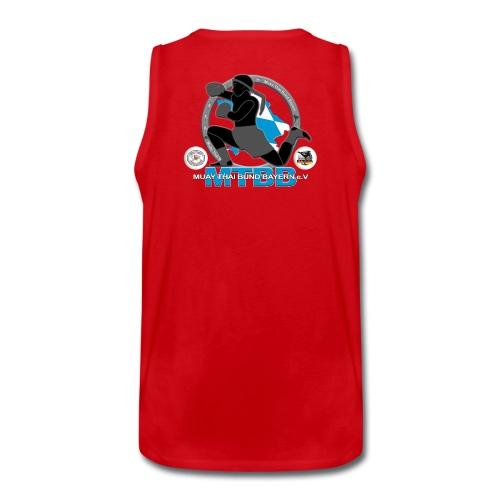 Männer Tanktop Rayong LA Logo vorne/MTBB Logo hinten - Männer Premium Tank Top