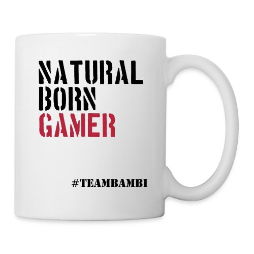 #TeamBambi Natural Born Gamer Tasse  - Tasse