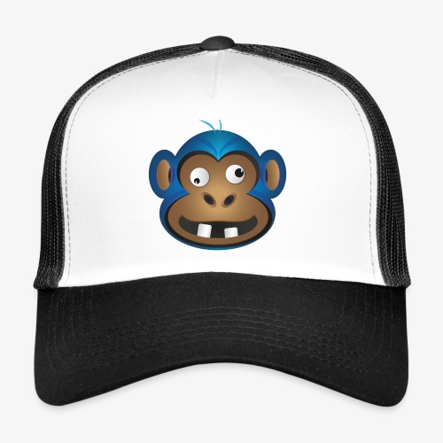 Verrückter Schimpanse - Trucker Cap